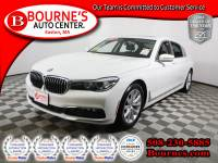 2017 BMW 740i xDrive w/ Navigation,Leather,Sunroof,Heated Front Seats, And Backup Camera.