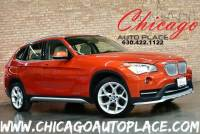 2015 BMW X1 sDrive28i - 2.0L TWINPOWER TURBO 4-CYL ENGINE REAR WHEEL DRIVE NAVIGATION BACKUP CAMERA PANO ROOF OYSTER LEATHER W/ORANGE/BLACK COLD WEATHER PACKAGE XENONS