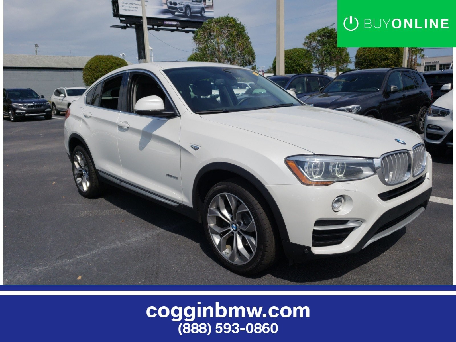 Photo Certified 2016 BMW X4 xDrive28i Sports Activity Coupe in Jacksonville FL