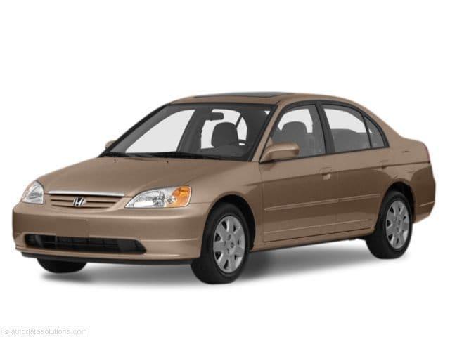 Photo Used 2001 Honda Civic EX for Sale in Portage near Hammond