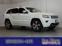 Certified 2015 Jeep Grand Cherokee Overland 4x2 SUV in San Diego