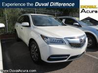 Used 2014 Acura MDX For Sale at Duval Acura | VIN: 5FRYD3H41EB020720