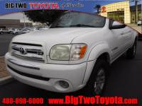 Used 2005 Toyota Tundra SR5 Double Cab SR5 RWD SB V8 in Chandler, Serving the Phoenix Metro Area