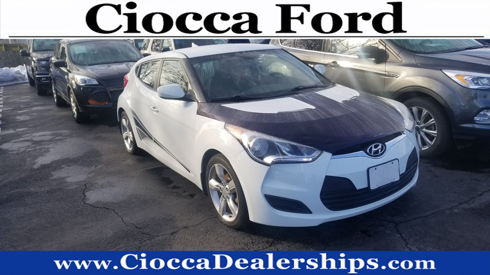 Photo Used 2013 Hyundai Veloster wBlack Int For Sale in Allentown, PA