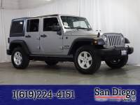 Certified 2017 Jeep Wrangler JK Unlimited Sport 4x4 SUV in San Diego