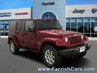 Used 2012 Jeep Wrangler Unlimited Sahara for sale in Fairfax, VA