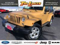 Used 2014 Jeep Wrangler Sahara SUV