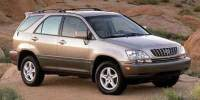 Pre-Owned 2002 Lexus RX 300 4dr SUV