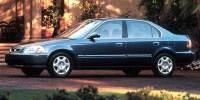 Pre-Owned 1998 Honda Civic LX Manual Sedan