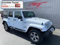 Pre-Owned 2017 Jeep Wrangler JK Unlimited Sahara 4x4 SUV 4x4 in Avondale, AZ