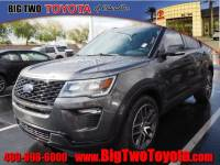 Used 2018 Ford Explorer Sport AWD Sport SUV in Chandler, Serving the Phoenix Metro Area
