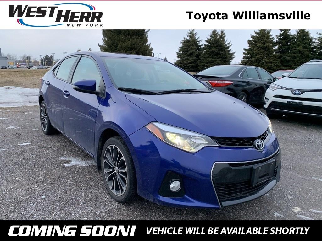 Photo 2016 Toyota Corolla S Plus Sedan For Sale - Serving Amherst