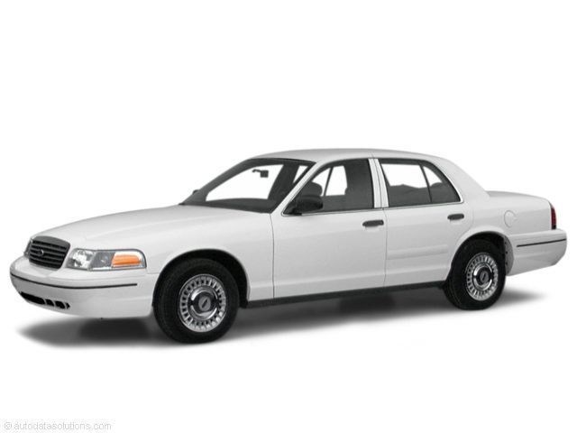 Photo 2000 Ford Crown Victoria Police INT