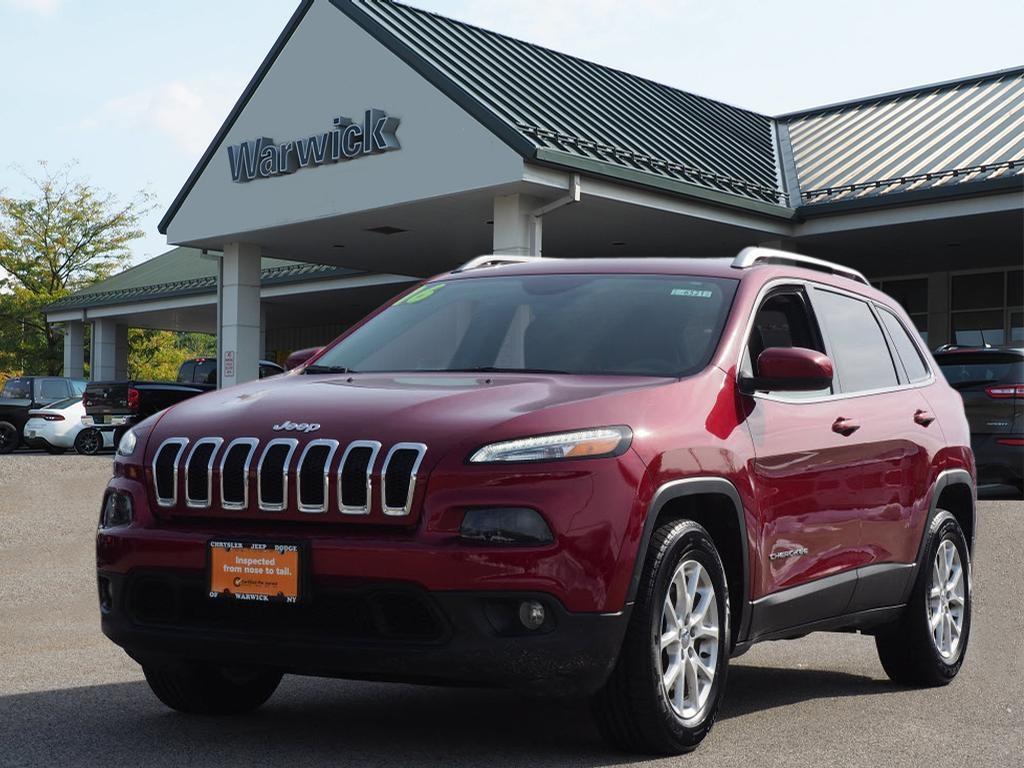 Photo Certified Pre-Owned 2016 Jeep Cherokee Latitude 4x4 Latitude SUV in Warwick near Ramsey, NJ