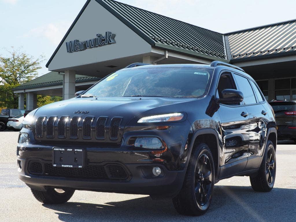 Photo Certified Pre-Owned 2016 Jeep Cherokee Latitude Altitude 4x4 Latitude Altitude SUV in Warwick near Ramsey, NJ