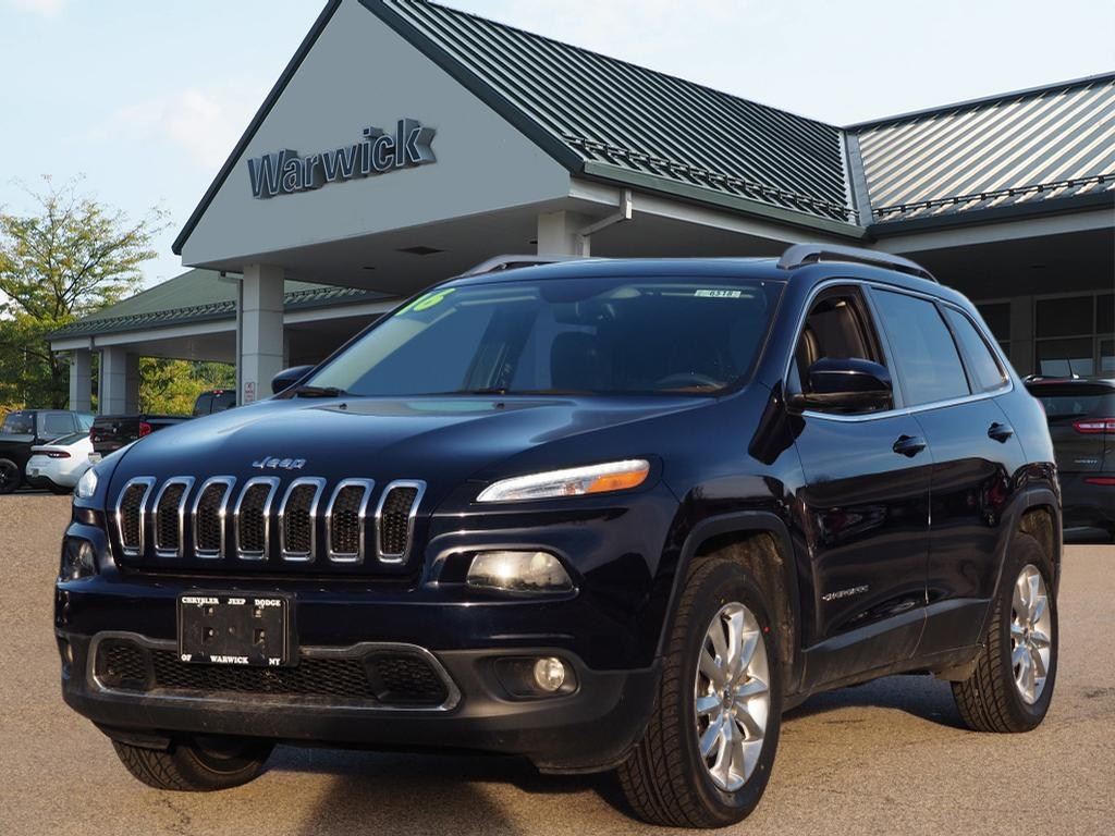 Photo Certified Pre-Owned 2016 Jeep Cherokee Limited 4x4 Limited SUV in Warwick near Ramsey, NJ
