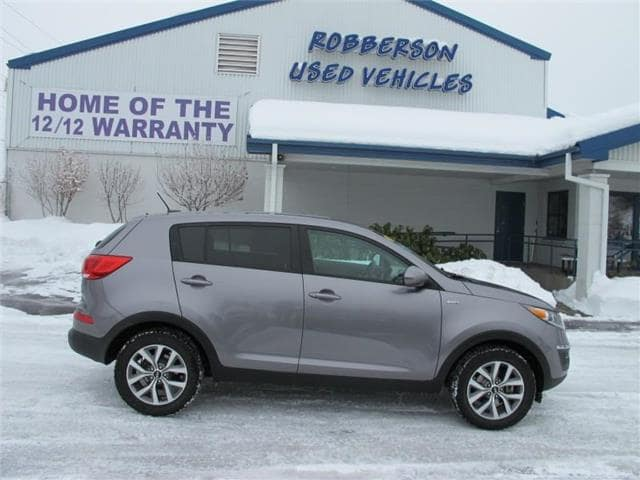 Photo Used 2014 KIA Sportage LX All-wheel Drive SUV For Sale Bend, OR