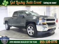 Pre-Owned 2018 Chevrolet Silverado 1500 LT Truck Double Cab 4x4 Fort Wayne, IN