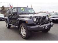 Used 2015 Jeep Wrangler Unlimited Sport 4x4 SUV for sale in Totowa NJ