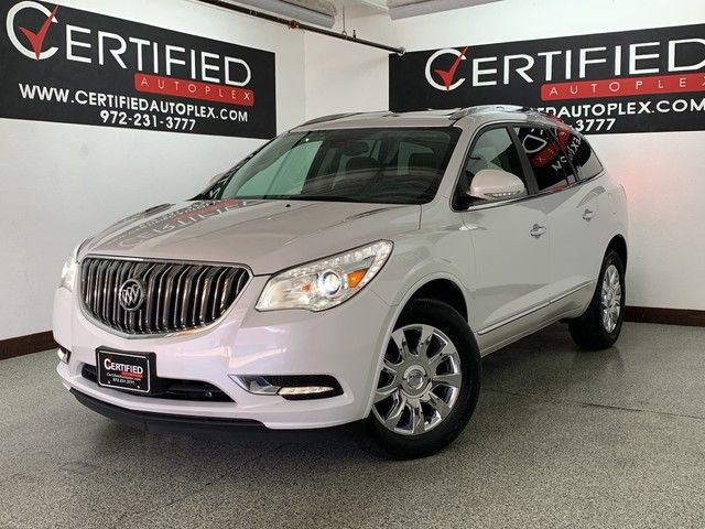 Photo 2016 Buick Enclave LEATHER GROUP NAVIGATION SUNROOF 2ND ROW CAPTAIN SEATS REAR CAMERA REAR PAR
