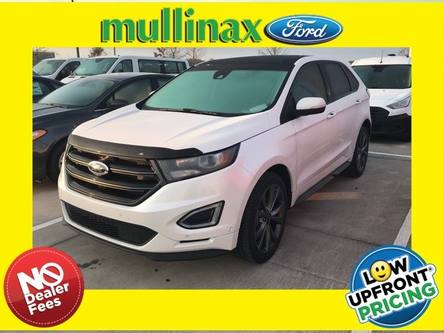 Photo Used 2017 Ford Edge Sport W Panoramic Roof, 21 Premium Wheels SUV V-6 cyl in Kissimmee, FL