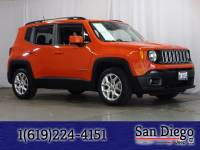 Certified 2018 Jeep Renegade Latitude FWD SUV in San Diego