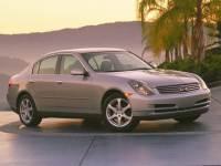 2004 INFINITI G35 X Sedan