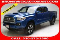 Used 2017 Toyota Tacoma TRD Sport V6 in Brunswick, OH, near Cleveland