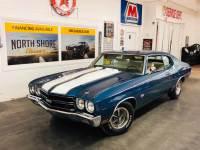 1970 Chevrolet Chevelle Fathom Blue Big Block-VIDEO