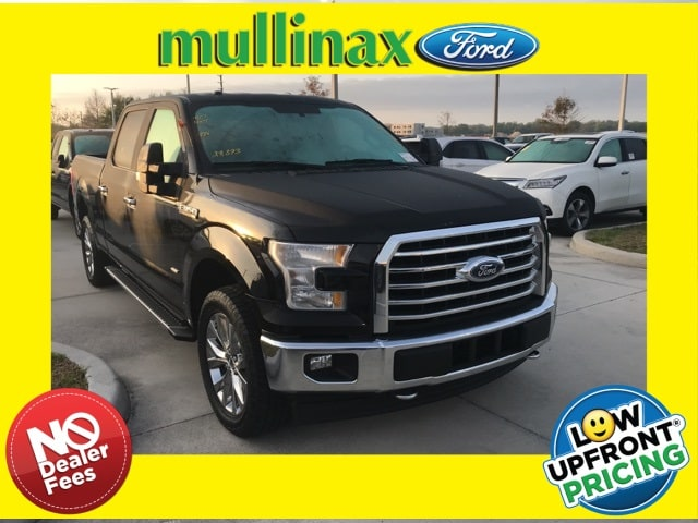 Photo Used 2017 Ford F-150 XLT W 3.5L Ecoboost, Navigation, 20 Wheels Truck SuperCrew Cab V-6 cyl in Kissimmee, FL