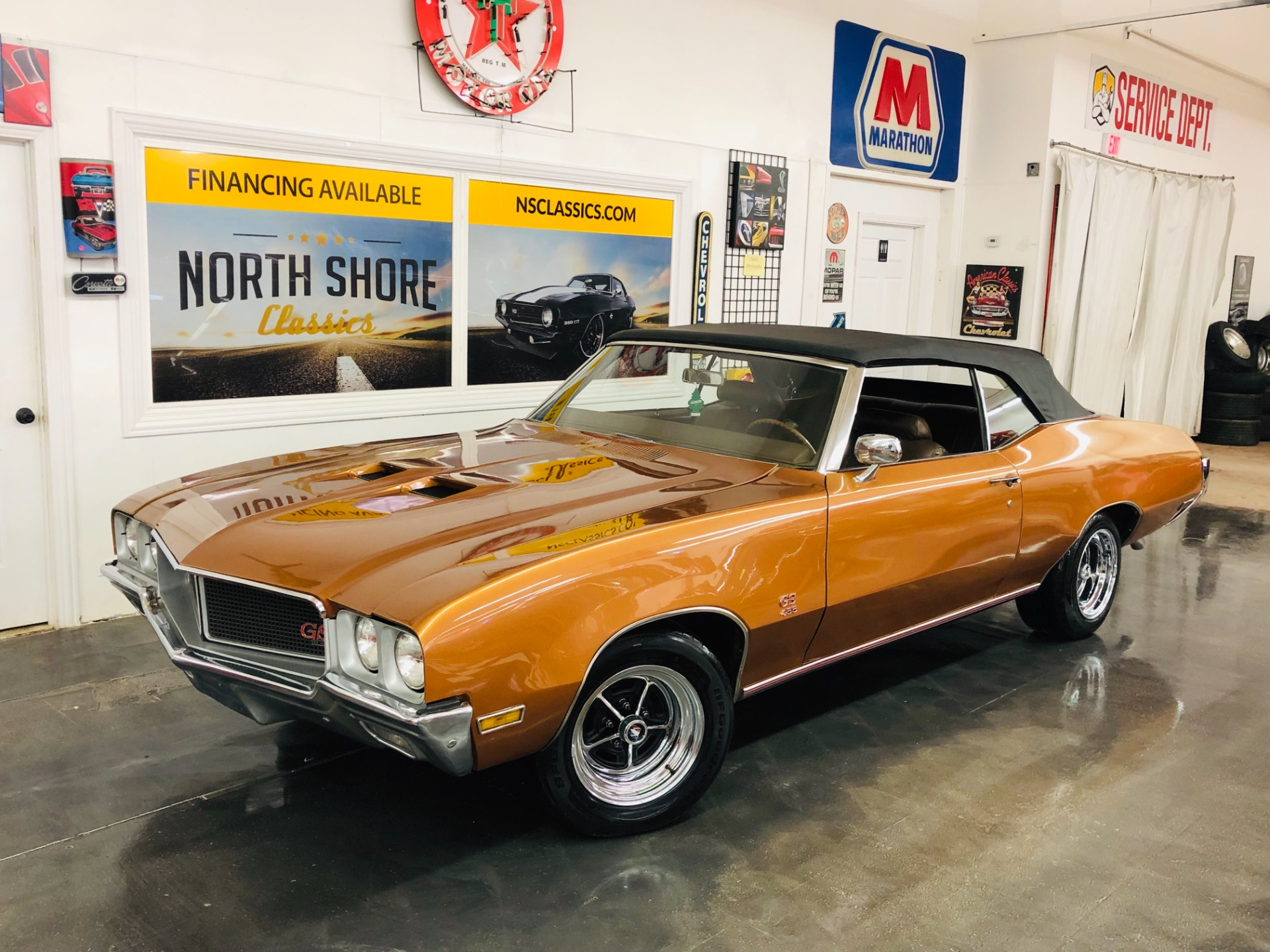 Photo 1970 Buick Skylark -Convertible GS Clone-AutoOverdrive-Factory 63 Code-VIDEO