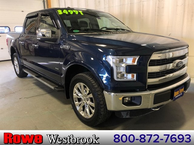 Photo 2015 Ford F-150 Lariat 502a Fx4 Twin Panel Moonroof Truck V6