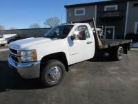 Used 2008 Chevrolet 3500 HD 4x4 Flat Bed Truck