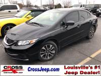 PRE-OWNED 2015 HONDA CIVIC EX FWD 4D SEDAN