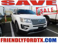 Used 2017 Ford Explorer Platinum SUV EcoBoost V6 GTDi DOHC 24V Twin Turbocharged for Sale in Crosby near Houston