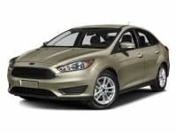 2016 Ford Focus S Sedan 4-Cylinder DGI DOHC