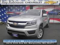 Certified Pre- 2018 Chevrolet Colorado LT in Marysville, WA