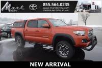 Certified Pre-Owned 2017 Toyota Tacoma TRD Offroad V6 4X4 Double Cab w/Fiberglass Topper, Truck in Plover, WI