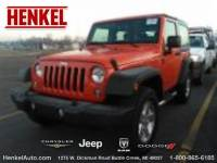 PRE-OWNED 2015 JEEP WRANGLER SPORT 4X4 4WD
