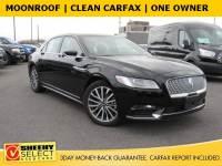 2017 Lincoln Continental Select Sedan V-6 cyl