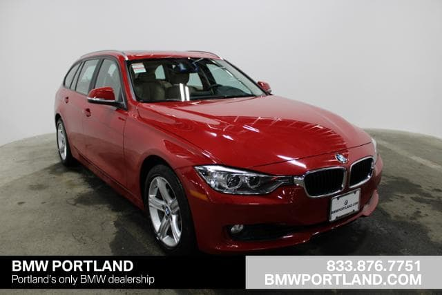 Photo Pre-Owned 2014 BMW 3 Series 4dr Sports Wgn 328i Xdrive AWD Station Wagon in Portland