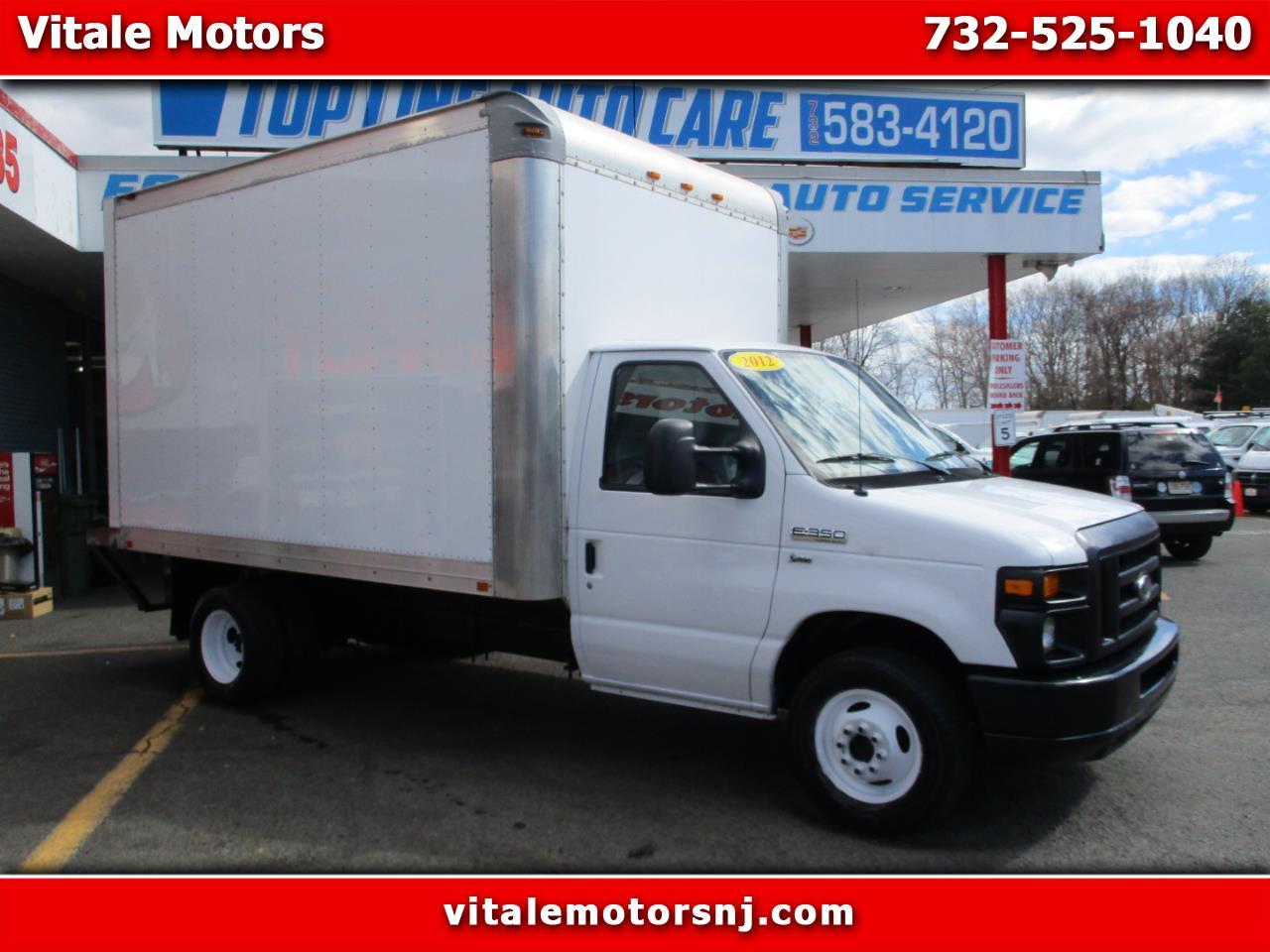 Photo 2012 Ford Econoline E-350 14 FOOT BOX TRUCK W REAR STEP