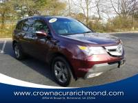 Pre-Owned 2009 Acura MDX 3.7L Sport Package in Richmond VA