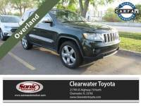2011 Jeep Grand Cherokee Overland RWD 4dr SUV in Clearwater