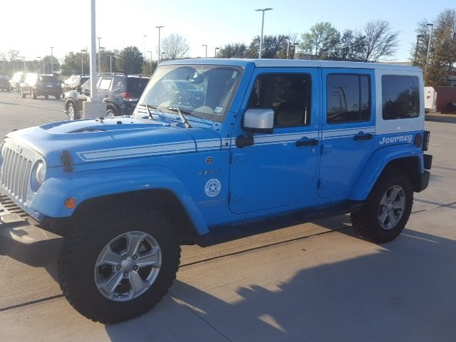 Photo Used 2017 Jeep Wrangler Unlimited Chief Edition For Sale Grapevine, TX
