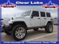 2012 Jeep Wrangler Unlimited Sahara SUV near Houston