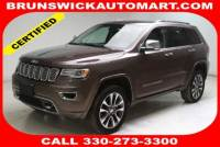 Used 2018 Jeep Grand Cherokee Overland 4x4 in Brunswick, OH, near Cleveland