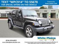 2018 Jeep Wrangler Unlimited JK Sahara 4x4 Sport Utility in White Plains, NY
