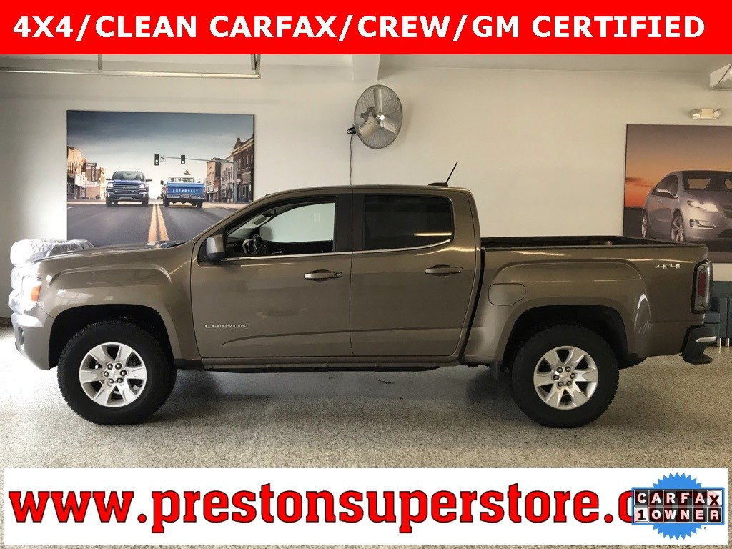 Photo Used 2015 GMC Canyon SLE1 Truck in Burton, OH