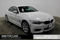 Certified Pre-Owned 2015 BMW 4 Series 2dr Conv 435i Xdrive AWD Convertible in Portland